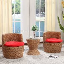 Wicker Living Room Furniture Elegant Light Weight Hotel Spa Indoor Rattan Wicker Living Room