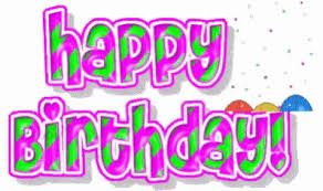 happy birthday pink and green happy birthday pink and green birthday candy cane gif