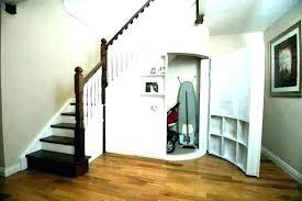 under stair storage closet under stair storage closet architectures stairs plans basement
