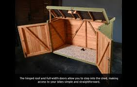 Small Picture Pedalbase Bike Shed nice compact design UK based company