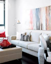 Interior Design For Small Space Living Room Small Space Interior Chic Condo Style At Home