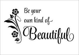 Be Your Own Beautiful Quotes Best of Be Your Own Kind Of Beautiful Wall Art Wall Stickers Wall Quote
