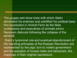 animal farm theme symbols motifs stalin 7
