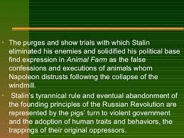 animal farm theme symbols motifs stalin 7