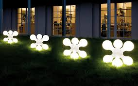 exterior modern outdoor light with unique design star shaped box with decorative white lights