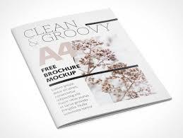 A4 Brochure Leaflet Catalog PSD Mockup flyer 2 3 psd mockups on free templates for professional flyers