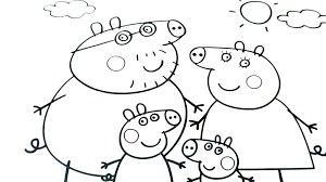 Pepa Pig Coloring Pig Coloring Page Pig Colouring Coloring Pages Pig