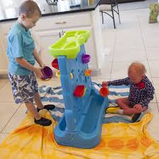 step2 waterfall discovery wall outdoor water activity fun toy for kids 26 pieces