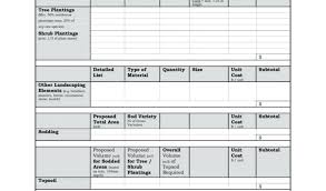 Sample Contractor Estimate Free Template Forms Construction Repair ...