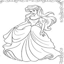 Populaire Dessin A Colorier Princesse A Imprimer