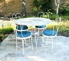 white metal patio chairs. Contemporary White White Metal Patio Furniture Sets Retro Vintage  Outdoor Set Chair Parts  Sets To White Metal Patio Chairs