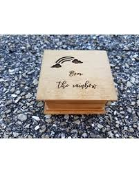 From a list of hundreds of musical song titles and create a special music box memory. Shop For Over The Rainbow Music Box Playing The Song Somewhere Over The Rainbow Custom Made By Simplycoolgifts