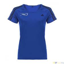 ADIDAS <b>Футболка женская</b> синяя с логотипом RAVENOL AKTIV ...