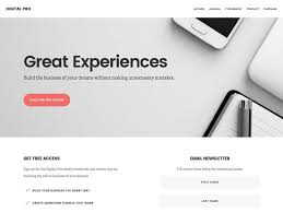 Company Portfolio Template Simple 48 Best Business WordPress Themes 48 AThemes