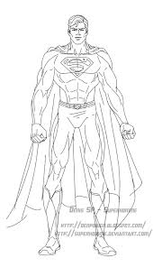 Dessin De Superman A Imprimer Coloriage De Supermanl L