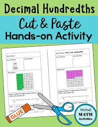 My Book Of Hundredths Place Value Chart Place Value With