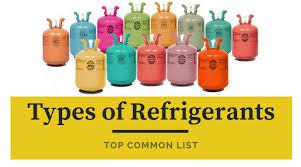 R11 Refrigerant Chart Refrigerants Types Top Common List