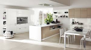 Modern Kitchen Wall Cabinets White Gloss Contemporary Open Kitchen Feats White Wall Cupboards