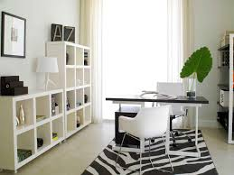 decorating your work office. Top Considerations When Decorating Your Work Office Shelving And A Vivid Rug Add Personalization To This R