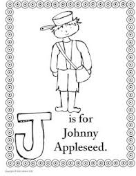 Small Picture Johnny Appleseed coloring pages Pre K FUN Pinterest Johnny