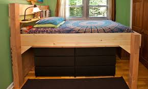 full size storage bed plans. Best Full Size Low Loft Bed Plans Diy Blueprints Storage