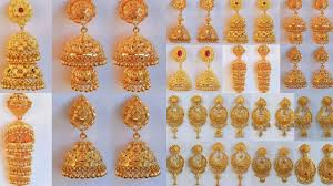 Artificial Jhumka Designs With Price Latest New Fashion Gold Earrings Jhumka Designs Weight