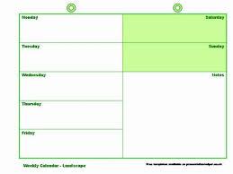 calendar templates weekly weekly calendar template