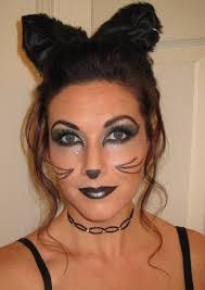 beautiful black cat makeup