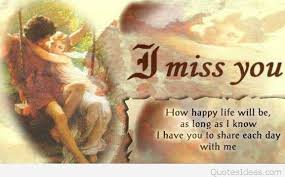 poem i miss you card sayings