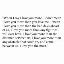 What I Love About You Quotes