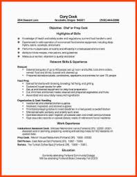 Line Cook Resume Example Custom Personal Chef Resume Sample Resumes Examples Attorney Template Best