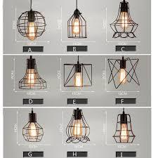 shade pendant lighting. MIXED VINTAGE EDISON METAL WIRE CAGE HANGING LAMP SHADE PENDANT LIGHT CHANDELIER Shade Pendant Lighting C