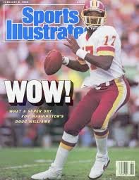 Super Williams Doug Sports Bowl Redskins Of The Illustrated 1988 Covers