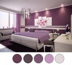 Purple wall pictures
