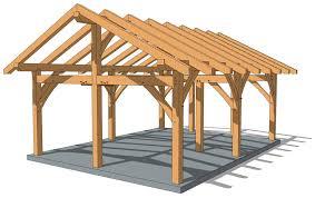 18 24 timber frame pavilion