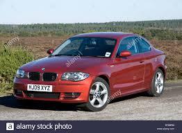Coupe Series bmw two door : 2009 BMW 123d Two door Saloon Stock Photo: 32103113 - Alamy