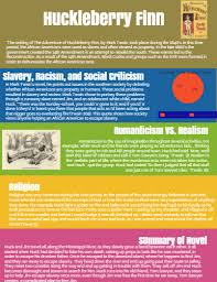 huckleberry finn by jenah call infographic
