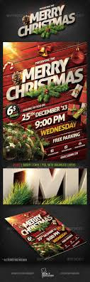 christmas party flyer template by saltshaker graphicriver christmas party flyer template holidays events