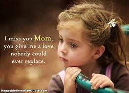 i miss you mom es