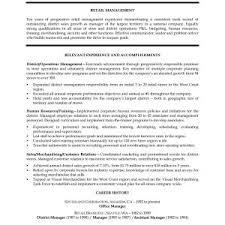 Popular Retail Store Manager Job Description For Resume ...