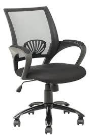 mid back mesh ergonomic computer desk office chair black 848837001186
