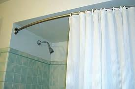 diy curved curtain rod custom shower rods curved shower rod height shower curtain rod curved interior