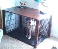 dog crate table top and home design app cheats me diy plans dog crate