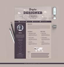 Resume Designs Classy Free Vintage Resume Design WooSkins
