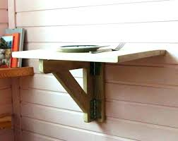 hinged wall desk table hinge mounted drop down lovely fold shelf folding diy wa