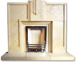 Art Deco Period Tiled FireplaceArt Deco Fireplace