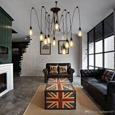 industrial look lighting. Industrial Look Lighting Lovely Style Vintage Art Loft Modern Chandelier Ceiling Pendant .