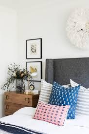 Image Bedside Lamp Coastalbohemianguestbedroomwithvintagerugand Decorpad Bed Nightstand Lighting Combinations