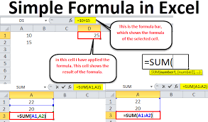 Simple Formula In Excel Examples How To Use Excel Formulas