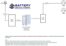 wiring diagrams for hardwire ups battery backup power, inc 30 Amp Service Wiring hardwire ups wiring diagram 6kva 240 volt input 240 volt output 30 amp service wiring